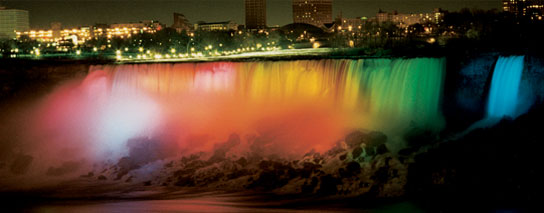 Wyndham Garden Niagara Falls Fallsview - Nightly Falls Illumination